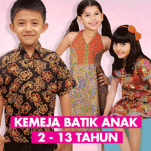 Kids Shirts - Boys Batik Shirt Age 2-13 years part 2