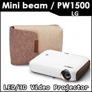 LG Electronics PW1500 LED Video Projector 3D video DLPLink compatible New