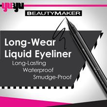 [BEAUTYMAKER]Long-Wear Liquid Eyeliner一筆勾魂持久眼線液筆-極限黑✮0.1cm Thin✮Long-lasting✮Waterproof✮Smudge-proof