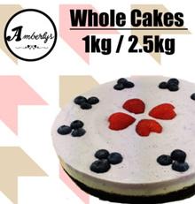 Oreo Chocolate / Blueberry Yogurt  / Strawberry Jelly / Mango Milk Tea Birthday Cheesecake AMBERLYS