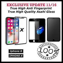Update Exclusive 11/16★Perfect Fit★Best Quality Flat $5★Iphone X/8/8 PLUS 2.5D Glass★