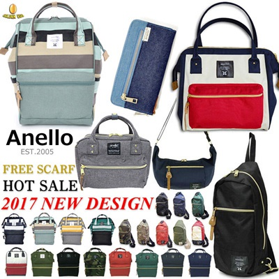 cdf71c509e2 ☆New Anello Bags◇JAPAN BEST SELLING BAGS for UNISEX◇BACKPACK WAIST BAG