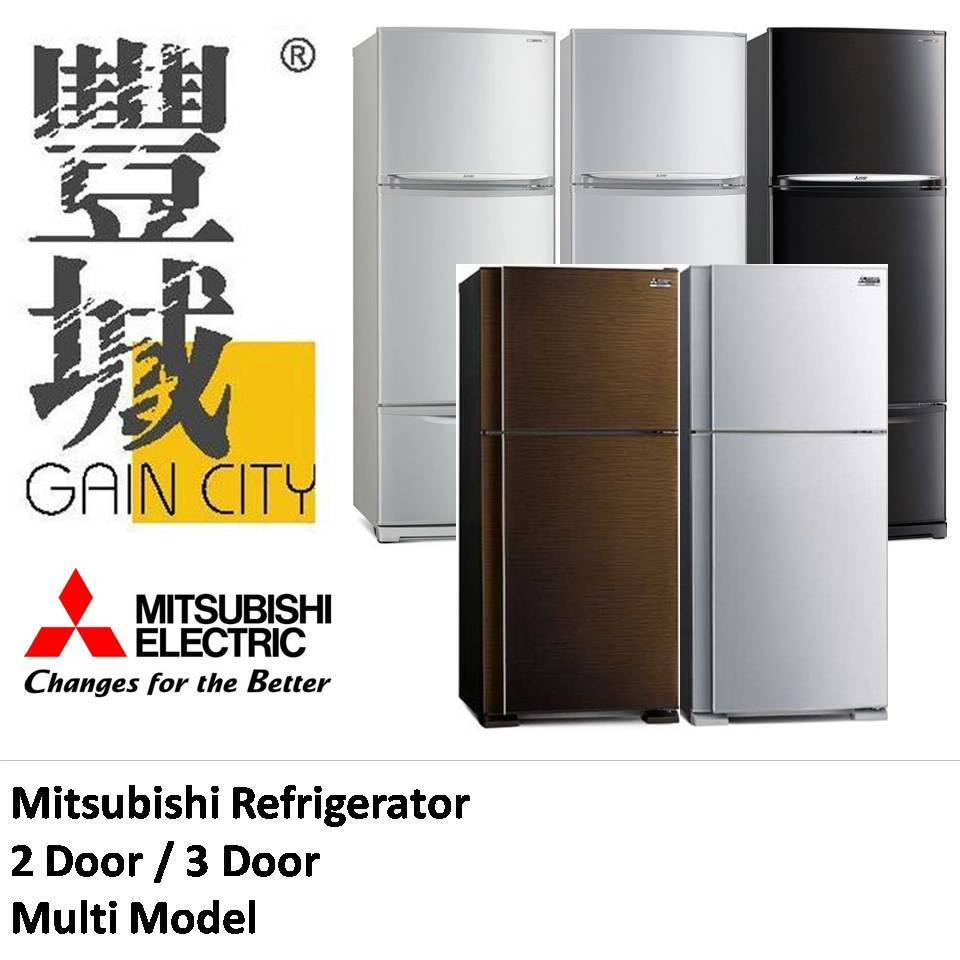 Qoo10 - Mitsubishi Refrigerator / 2 Door Fridge / 3 Door Fridge ...