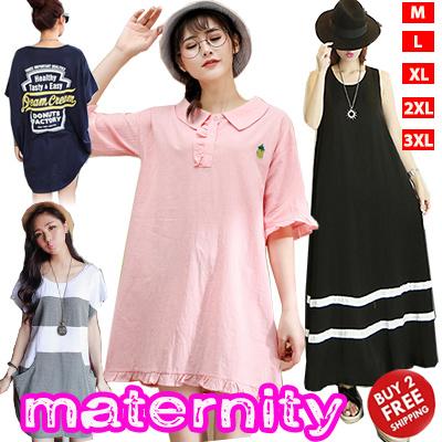 a7b337ecc9bc5 2019 Maternity Wear Dress/ Tops Shirts /Bras/ Tee Shirts Vest/ Pregnancy  Women Summer Wear Plus Size