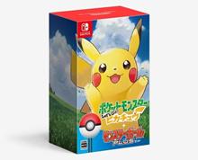 Nintendo Switch Pokemon Lets Go Pikachu Bundle set (include Monsterball Plus + Mew)