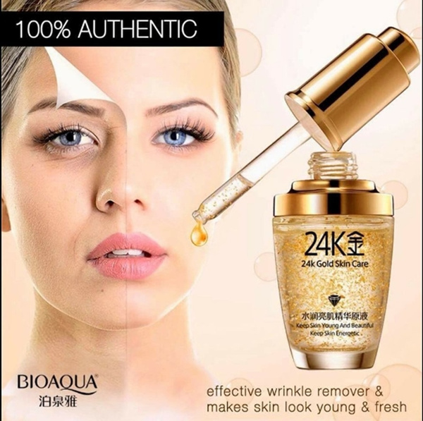 BIOAQUA Serum Wajah 24K Gold Deals for only Rp33.000 instead of Rp55.000
