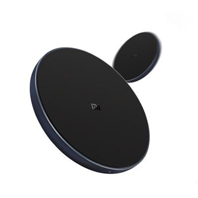 【小米新品】小米無線充電器(通用快充版)★Qi無線標準-LED指示燈-鋁合金殼體-矽膠材質-防滑減震-金屬異物檢測-支持小米MIX2S-iPhone8/Plus--iPhoneX-三星S9的快充