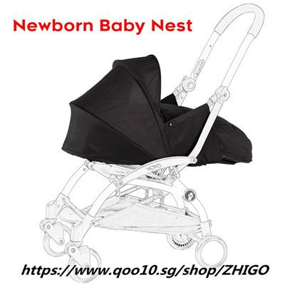 bas prix 344ee 7c0d5 Baby Stroller Birth NB Nest Sleeping Basket Stroller Accessories For  Babyyoya Babyzen yoyo+ Yoya Bab