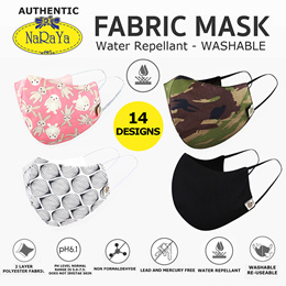 AUTHENTIC NARAYA FACE MASK | Water Repellent. Washable. Lead and Mercury Free. Reusable mask
