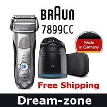 Free Shipping !! THE LOWEST!★  [ New! ] Braun 7899CC Mens Electric Shaver LCD Wet  Dry Series7