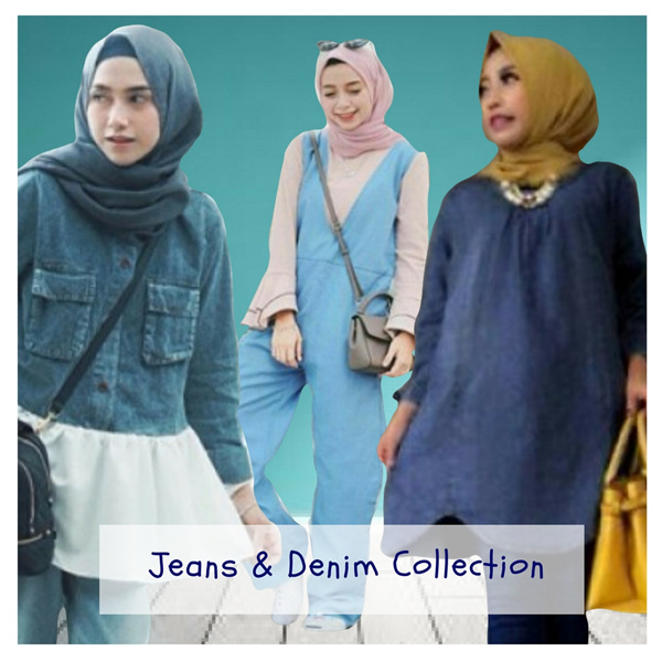 DENIM AND JEANS COLLECTION Deals for only Rp78.000 instead of Rp78.000