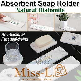 Diatomite Absorbent Soap Holder/soap dispenser/hand soap/Coaster