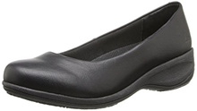 Skechers for Work Womens Mina Slip Resistant Slip-On Flat