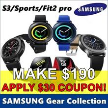 [MAKE $190] SAMSUNG Gear Collection ★ Gear Fit 2 Pro / Gear Sport / Gear S3 ★ Smart Watch / GPS