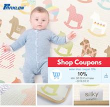 Parklon Genuine Sillky Series Baby Playmat Soft Mat Korea Add Another 10% Seller Shop Coupon