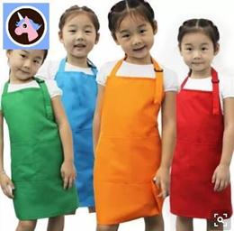Sale New 2015 Cute Kids Children Kitchen Baking Painting Apron Baby Art Cooking Craft Bib