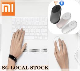100% Original Xiaomi Mouse Portable Optical Wireless Bluetooth Mouse 4.0 RF 2.4GHz Dual Mode Connect