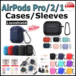 [SG] ★AirPods Pro/2/1★ Protective Case Casing Cover - LionShield