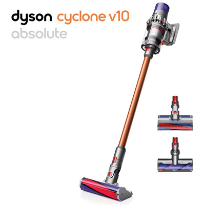 qoo10 dyson cyclone v10 absolute cordless stick vacuum cleaner vat include home electronics. Black Bedroom Furniture Sets. Home Design Ideas