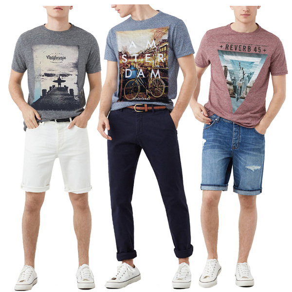 Jfashion Mens Basic Tshirt Collection Deals for only Rp51.900 instead of Rp51.900