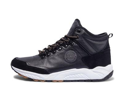 8207957467 Colmar uomo sneakers nere grigie Cooper Road scarpe pelle PE 2018 €  1̶2̶9̶,̶9̶0̶
