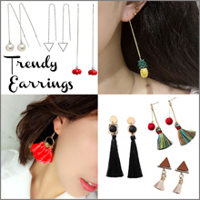 Trendy Earrings / Tassel / Ear Line / Ear Studs / Pearl Earring / Jewelry / Fashion Accessories