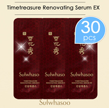 Timetreasure Renovating Serum EX *30pcs /Sulwhasoo/Sample/Korea Cosmetics