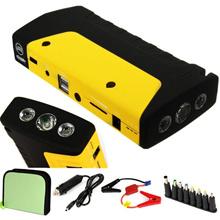 NEW 10000mAh 12V Jump Starter Car Emergency Charger Booster Power Bank Battery