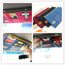 【EDAHOUSE】**Local Seller** Fashion Korea multifunction car sun louver storage bags