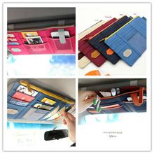 【EDAHOUSE】**Local Seller** Fashion Korea multifunction car sun louver storage bags