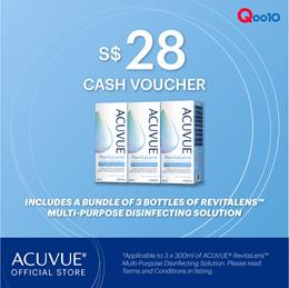$28 ACUVUE™ RevitaLens (Bundle of 3x300 ml)