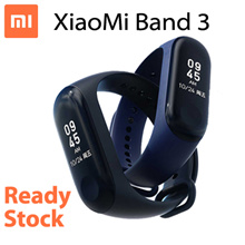 【Ready Stock】Xiaomi Mi Band 3  Smart Wristband /  0.78 Inch OLED Touchscreen / 50 M Swimming Waterpr