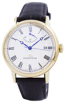[CreationWatches] Orient Star Elegant Classic Automatic Power Reserve SEL09002W0 EL09002W Mens Watch