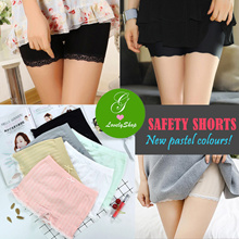 Good Quality! Safety Shorts.Underpants Pants.Tights. Lacy Pastel Sports Yoga Maternity Tubes Tank