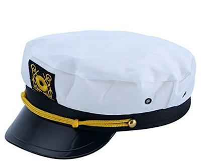 99e26c6e1b6 Qoo10 - (Jacobson Hat Company) Adult Yacht Captain Hat Costume ...