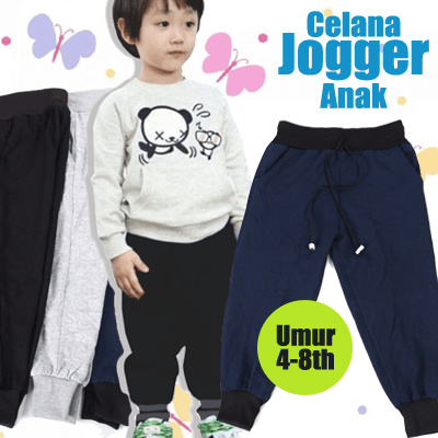 [Calista] Celana Jogger Anak | Umur 4 Deals for only Rp39.000 instead of Rp39.000