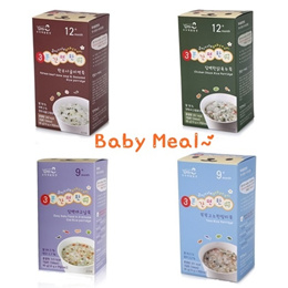 3minutes at miznco/8kinds of Easy baby food/Korea baby food4month~12month Baby food/Travel/Outing/Trip/Organic rice/Cook 3 minutes/Portability/8types/8Box