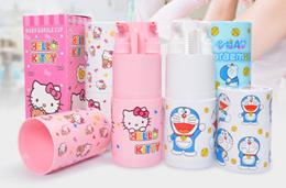 Hello Kitty/ Doraemon Portable Travel Soap Dispenser Set ♥ Swim Bathing Set