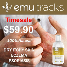 Australian Bio-Active Emu Oil 250ml. For All Skin Problems. 100% Natural.