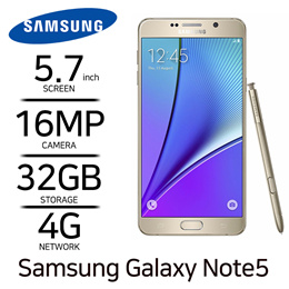 Samsung Galaxy Note5 Used Phone Unlocked Smartphone Mobile phone Free Shipping