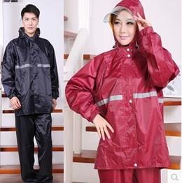 New Item Rainwear Adult Female Male Raincoats Rain Pants Electric Motor Cycle Bicycle Rain Coat Wome