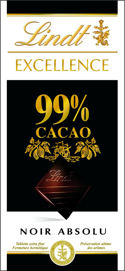 Linz Lindt Excellence 99 Cacao 50 G
