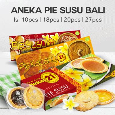 ANEKA PIE SUSU ASLI ENAK RASA Isi 10 Pcs | ISI 20 PCS | PIE SUSU 21 Deals for only Rp89.000 instead of Rp89.000