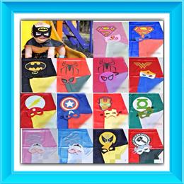 Restock! SUPERHERO MASK AND CAPE SET/SUPERMAN/SPIDERMAN/IRONMAN/FROZEN ELSA/WONDERWOMEN/BATMAN/FLASH
