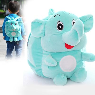 60d55090b412 Children Elephant Bags Lovely Small Plush School Backpacks Cartoon Brand Kids  Backpack Childrens Sch