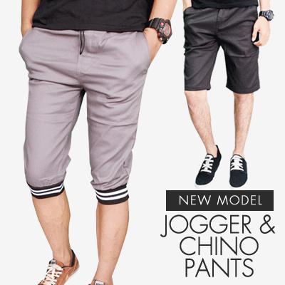 Celana Joger dan Chino Pendek Pria / Banyak Warna dan Motif / Best Seller / Premium Quality / jogger pants celana jogger celana pendek Deals for only Rp95.000 instead of Rp95.000
