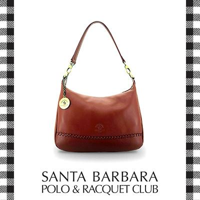 fab455877c89 Santa Barbara Polo and Racquet Club Shoulder Bag with Braided Detailing
