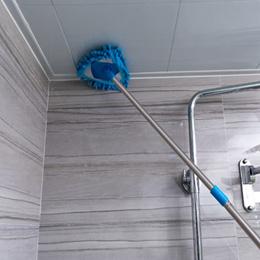 拖把/迷你小拖把家用轻便打扫擦墙卫生间厨房天花板瓷砖地墙面清洁神器