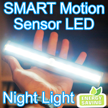 ★★★StarBuy★★★Wireless Premium Motion Sensor LED Bar With Warranty