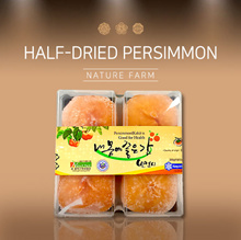 [Nature Farm]★Half-dried persimmon 4ea★/ korean food /snack /dessert /brunch/healthy/B2C17_189